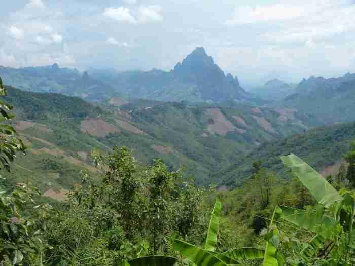 Abfahrt von Phou Khoun